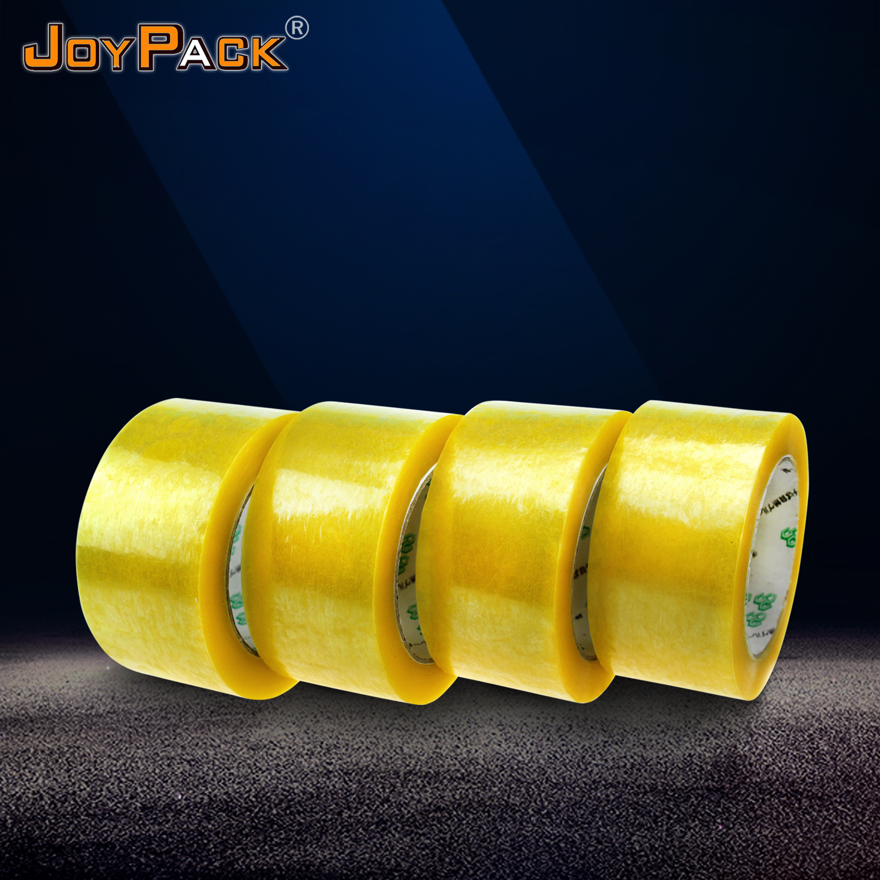 Transparent boxes packing bopp adhesive decorative tape with competitive  price
